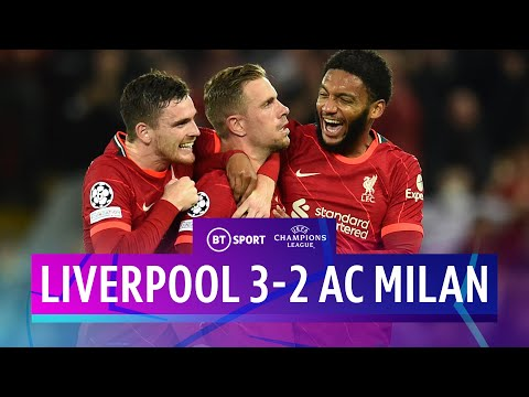 Liverpool v AC Milan (3-2) | Henderson Scores Winner In Thriller | Champions League Highlights