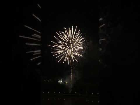 Kuching City Street Parade  2017 firework