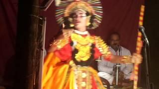 Abhishek K.S- Prasena in Jambavathi Kalyana