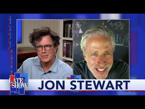 Jon Stewart Returns With Advice From 1918 And Thoughts On Trump's Handling Of The Coronavirus