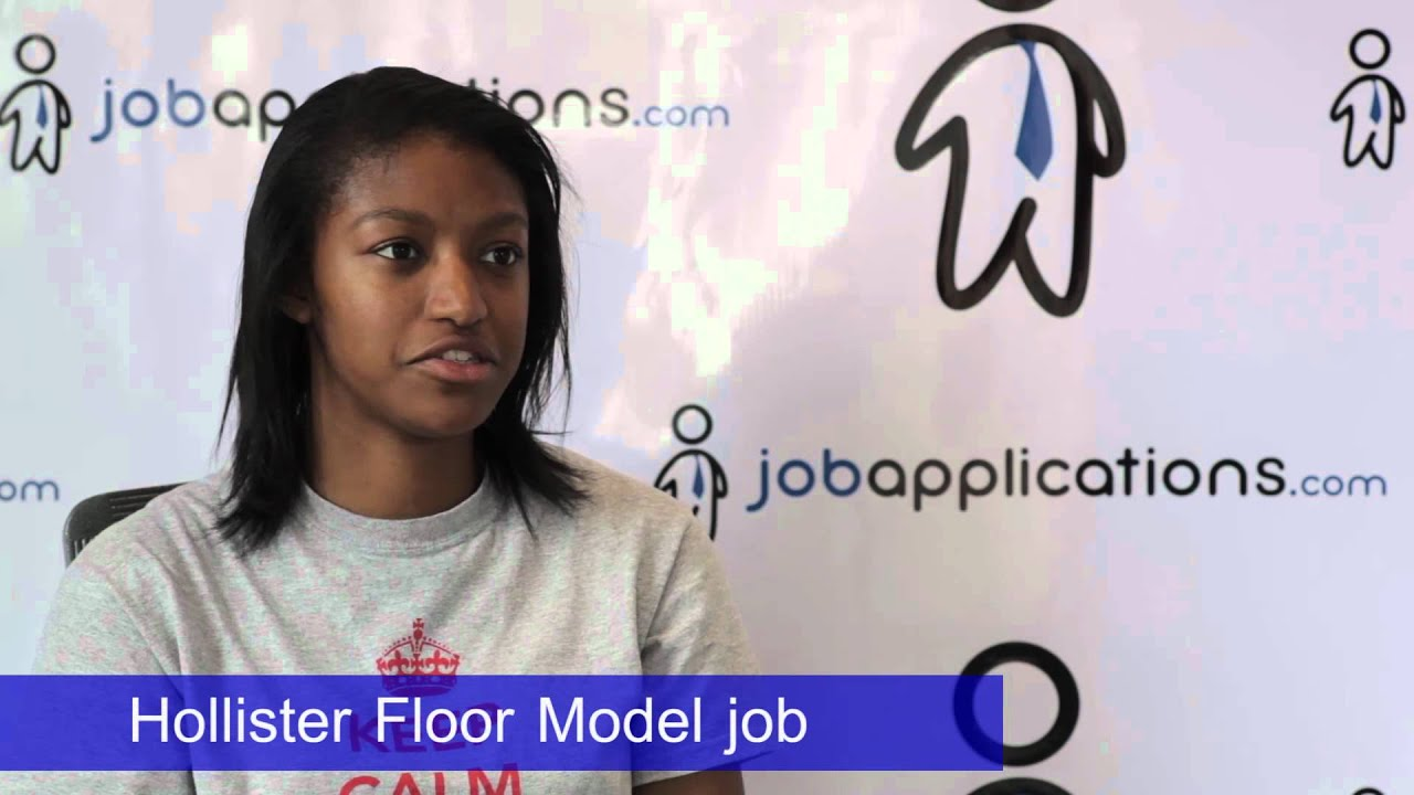 hollister co model job description
