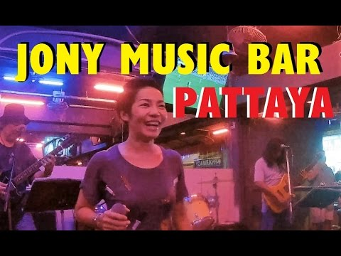 SHE GRABBED MY CAMERA ! At JONY Beer Bar Pattaya.  Live music