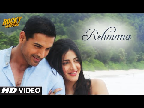 Thumbnail: REHNUMA Video Song | ROCKY HANDSOME | John Abraham, Shruti Haasan | T-Series