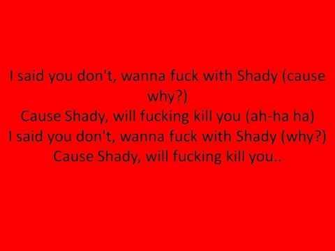Eminem- Kill You (Lyrics)