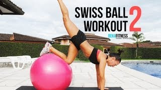 swiss ball workout 2 rebeca martinez