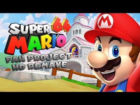 Super Mario 64 HD Remake! Deel 1/2- ''De gevangenis voor een golden coin box?'' - [Dutch / NL]