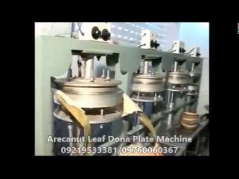 Areca Leaf Plate Making Machine 09219533381, 09760060367