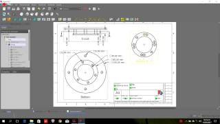 FreeCAD 0.17 New Part Desing and New TechDraw PART1- Sections