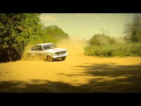 Rally Driving Escort MKII And Subaru Wow
