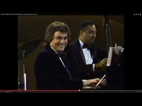 "DUDLEY MOORE PLAYS ""JAZZ & GERSHWIN"" AT HOLLYWOOD BOWL (COMPLETE), 1984"