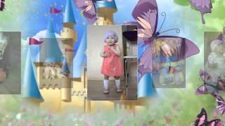 Слайд-шоу - сказка. Детский фото клип. Поздравление с днем рождения сыну, дочке