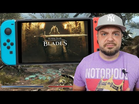 The PROBLEM With Elder Scrolls Blades For Nintendo Switch!