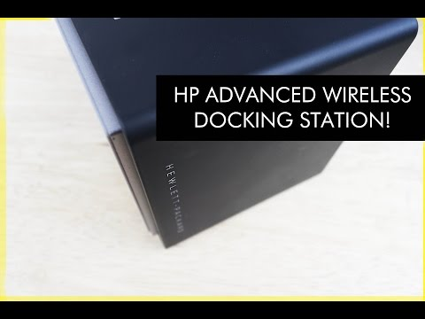 notebook docks /& port replicators HP Advanced Wireless Docking Station Wireless, WiGig, Elite x2 1011 G1, Black