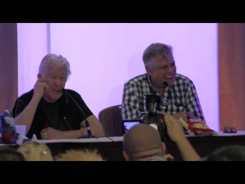 Jack Angel and Dick Gautier at TFCON 2013 Part 6