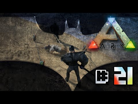 The Dark Knight Poops!! - Ark Survival Evolved || Ep 21