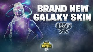 PREMIER REGARD SUR LA TOUTE NOUVELLE FORTNITE GALAXY SKIN FT. NINJA! Fortnite Battle Royale Faits saillants #110