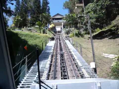 Cable Tram Penang Island Malaysia