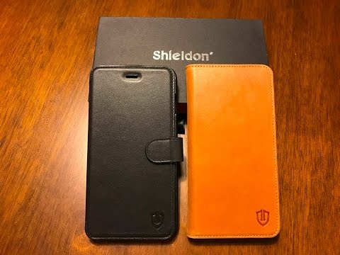 Shieldon Leather Wallet Cases For IPhone 7 Plus - Best Wallet Case?