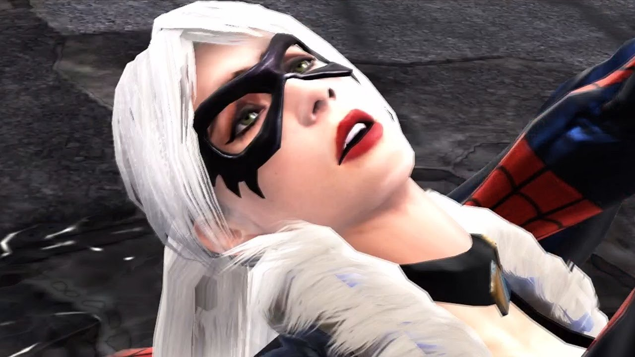 Black Cat Spiderman Web Of Shadows