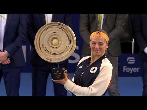 Julia Goerges vs. Jelena Ostapenko | 2019 Luxembourg Open Final | WTA Highlights