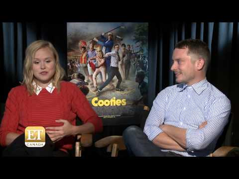 Alison Pill And Elijah Wood Talk 'Cooties'
