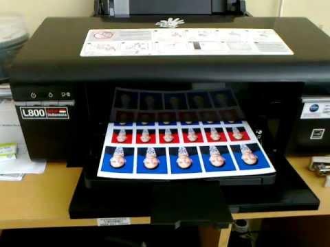 Драйвер на принтер epson l800 windows 10