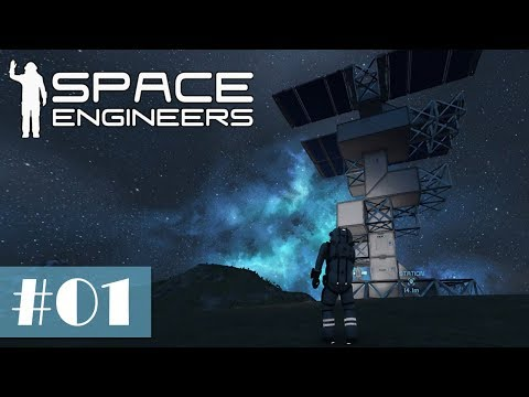 Let's Play Space Engineers #01 - Unsere erste kleine Basis [
