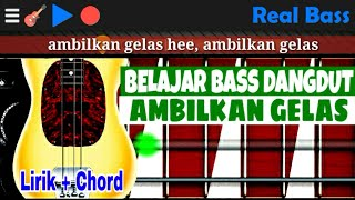 Chord Bass Ambilkan Gelas Dangdut Real Bass