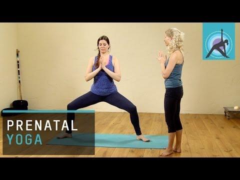 Prenatal Pregnancy Yoga Exercise