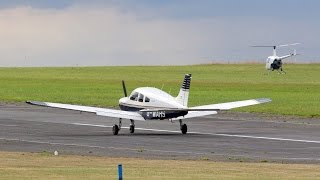 Flight VLOG - PA28 to Goodwood Chichester - 1 Go-Around