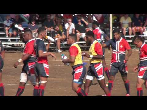 """Rugby """"30 min"""" International Match Curacao vs Dominican Rep. 14 04 2018"""