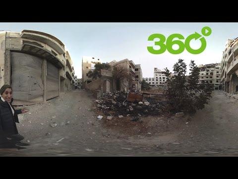 Homs en 360º: Un recorrido por lo que quedó del casco histórico de la tercera mayor ciudad de Siria