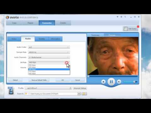 How to convert AVI to MP4 with DVDFab 9