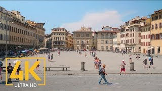 Firenze/Florence, Italy - 4K Urban Documentary Film - NO Narration