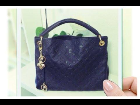 32a917dd87a Louis Vuitton Empreinte Artsy MM in Infini - YouTube