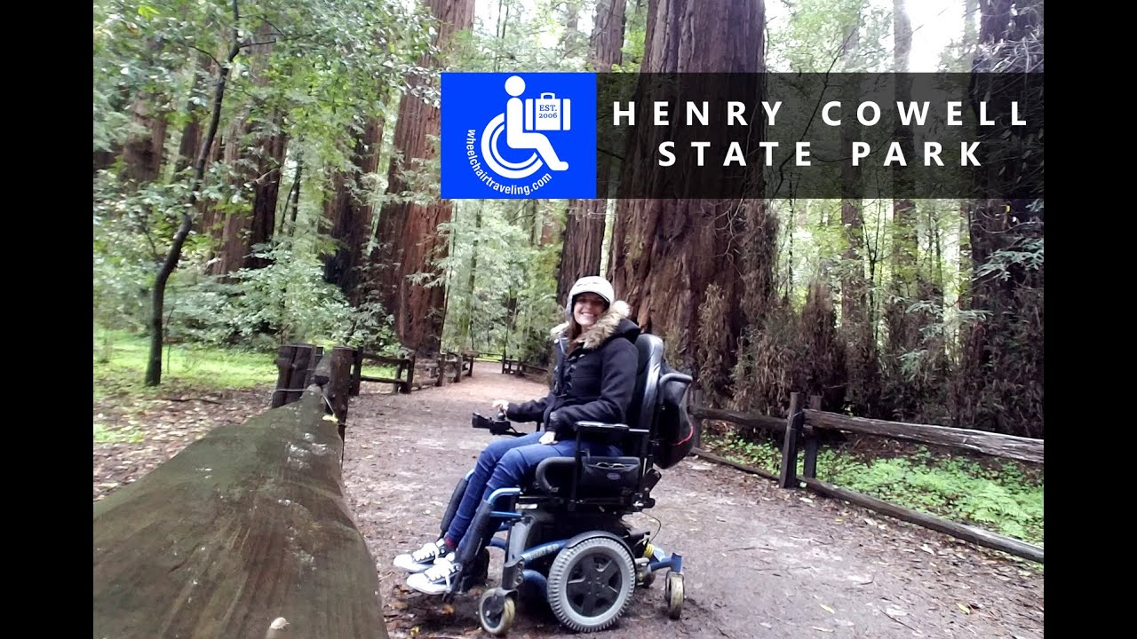 Henry Cowell State Park + Wheelchair Accessible Hiking
