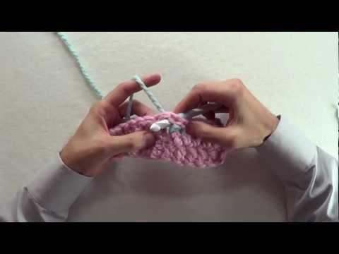 CROCHET HOW-TO: Back Post Double Crochet [BPdc]