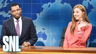 Weekend Update: Bailey Gismert on Summer 2019 Movies - SNL