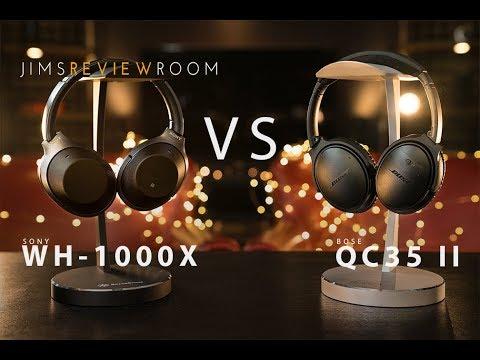 Bose QC35 II vs Sony WH-1000X - COMPARISON