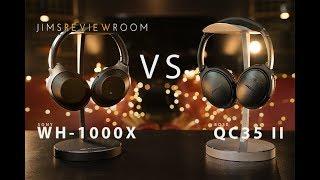 bose qc35 ii vs sony wh 1000x comparison