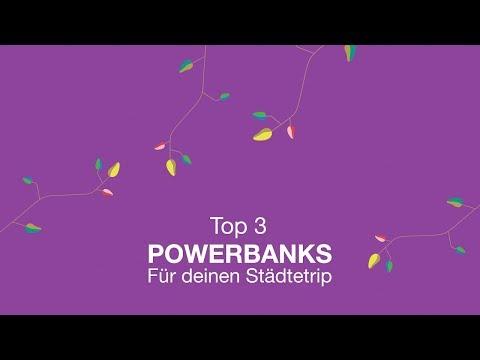 Vorschau: Top 3 Powerbanks für deinen Städtetrip I Dreiland