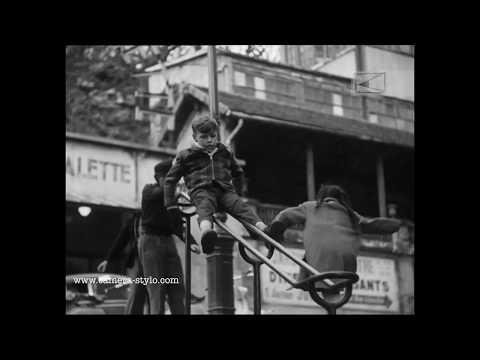 Paris Montmartre, 1955