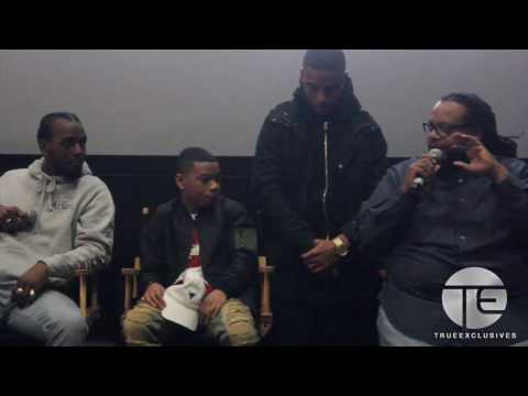 Q&A at NYC Screening w/ cast of BET's 'The New Edition Story'