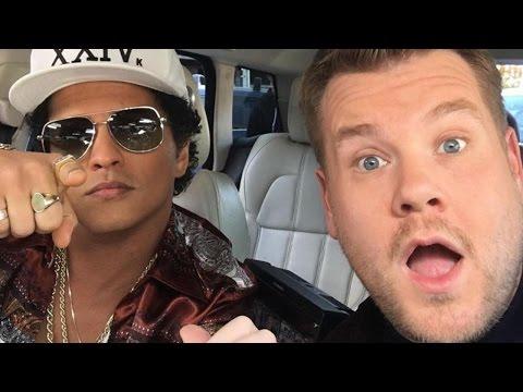 Bruno Mars Is James Corden's Next Carpool Karaoke Guest