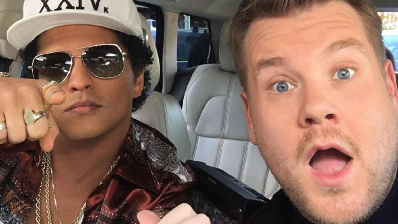 Bruno Mars Is James Corden S Next Carpool Karaoke Guest