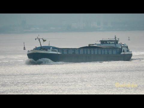 GMS BREEDIEP PI2810 MMSI 244700155 Emden river barge inland cargo ship Binnensschiff
