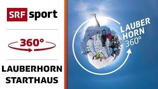 360° Blick in das Starthaus vom Lauberhorn | 360° Ski-Special | Lauberhorn thumbnail