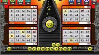 Mayan Bingo - Game In Play