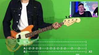 Fall Out Boy Wilson (Expensive Mistakes) Bass Cover with TAB