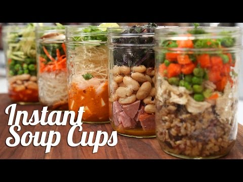 5 Easy Instant Soup Cups